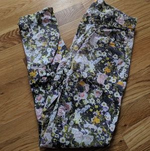 Floral Madewell Skinny Skinny Jeans
